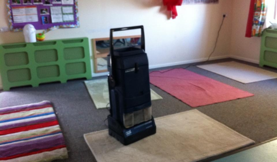Nursery school carpet and rug cleaning